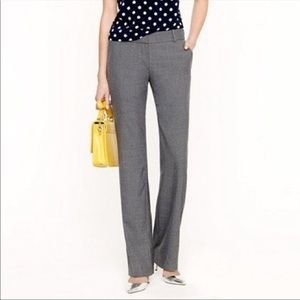 J. Crew 1035 Trouser in Italian Stretch Wool